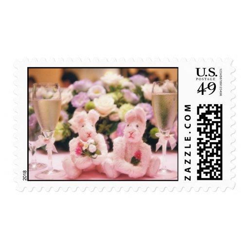 Wedding Bunnies- stamps