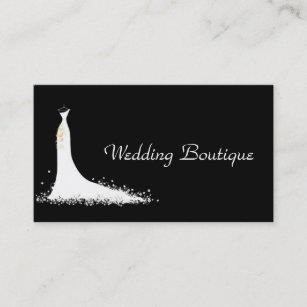 wedding dress business cards zazzle