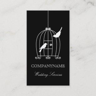 Birdcage wedding business cards templates zazzle wedding business card template bird cage accmission Choice Image