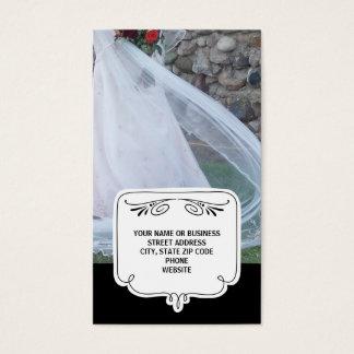Wedding Business Cards {Black}