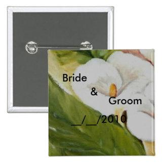 wedding pinback buttons