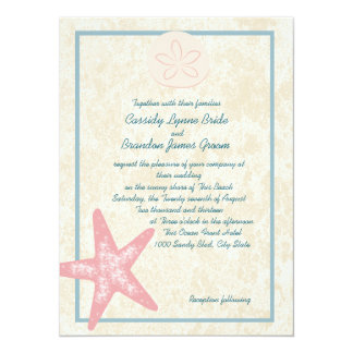 Wedding By the Sea Card