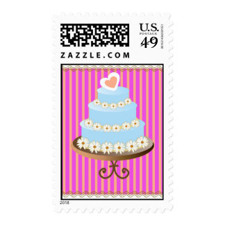 wedding cake 1 postage