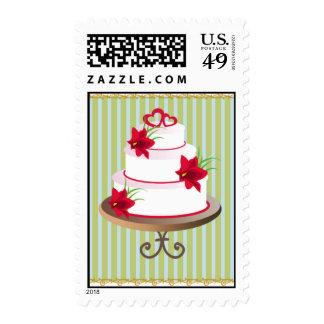 wedding cake 2 postage