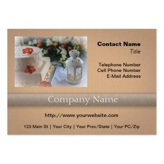 Wedding Cake and Lantern Business Card Templates