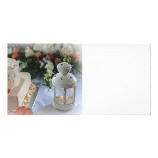 Wedding Cake and Lantern Card