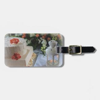 Wedding Cake and Lantern Tag For Luggage