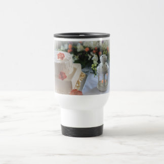Wedding Cake and Lantern Travel Mug