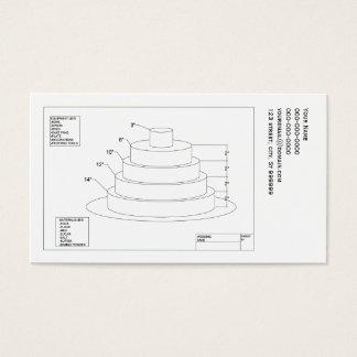 Wedding Cake Baker Business Card