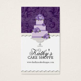 Wedding Cake Bakery Business Cards