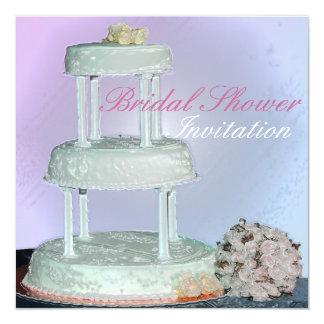 Wedding cake Bridal Shower, Invitation