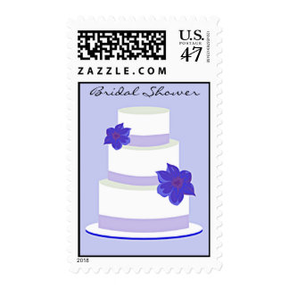 Wedding Cake Bridal Shower Postage
