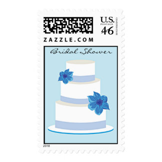 Wedding Cake Bridal Shower Postage