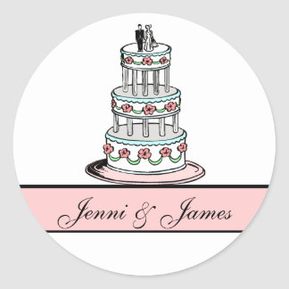 wedding cake bag stickers wedding cake clipart gifts on zazzle 21785
