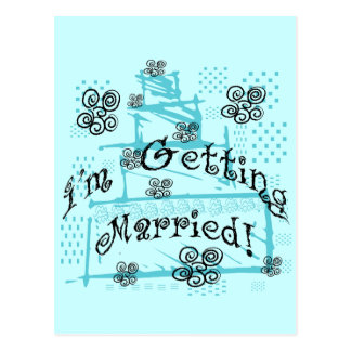 Wedding Cake Bride Tshirts and Gifts Postcard
