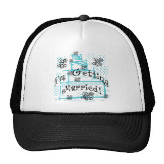 Wedding Cake Bride Tshirts and Gifts Trucker Hat