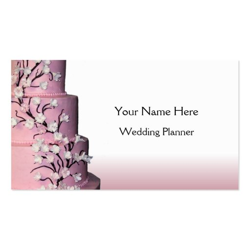 Wedding Cake business cards