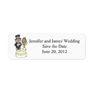 Wedding Cake Clipart Return Address Labels