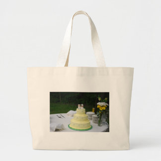 Wedding Cake Large Tote Bag