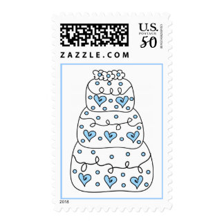 Wedding Cake Postage