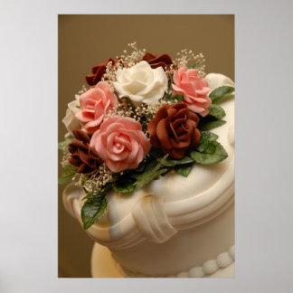 Wedding cake poster