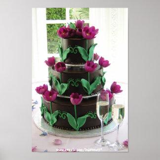 Wedding Cake-Print 3. Poster