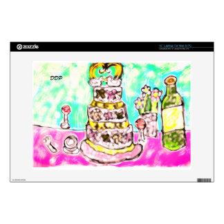 """wedding cake skin for 13"""" laptop"""
