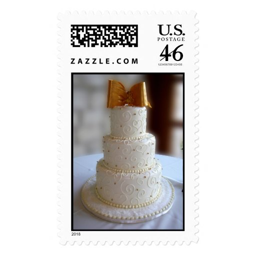 Wedding Cake Stamp Zazzle