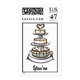 Wedding Cake Stamp