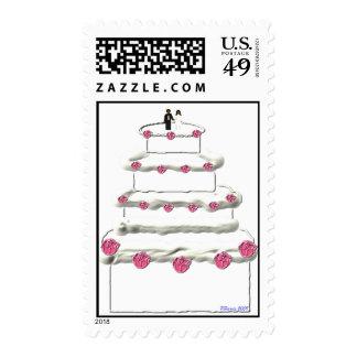 Wedding Cake Stamp 10