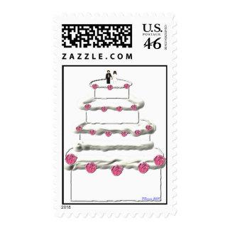 Wedding Cake Stamp 12