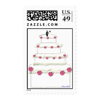 Wedding Cake Stamp 13