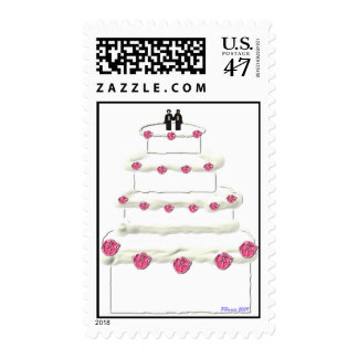 Wedding Cake Stamp 16