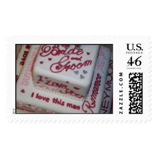 Wedding Cake Top View Stamps