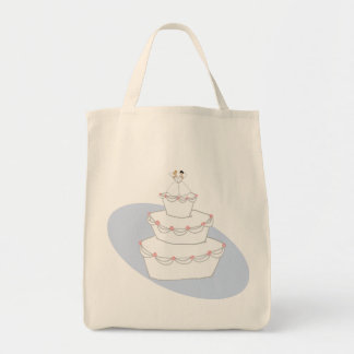Wedding Cake Two Brides Tote Bag
