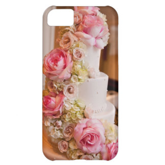 Wedding Cake with Flowers iPhone 5C Covers