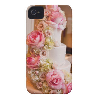 Wedding Cake with Flowers iPhone 4 Case