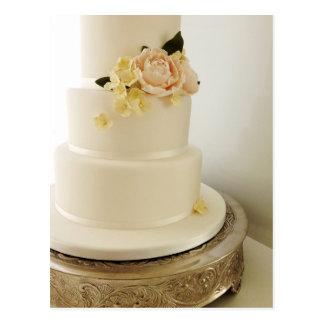 Wedding Cake with Sugar-Flower Cascade Post Cards