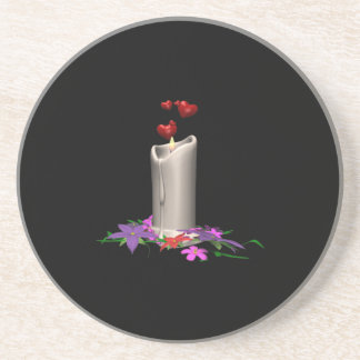 Wedding Candle Coaster