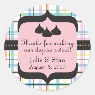 Wedding Candy Sticker - Personalize it!