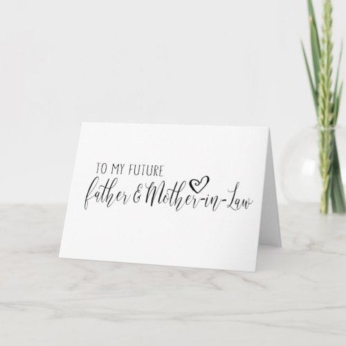 wedding card for the future Father  mother_in_law