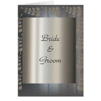 Wedding Card Invitation Silver Cards