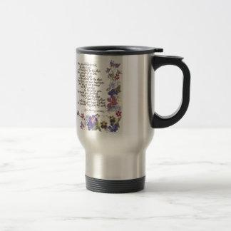 Wedding cards and gifts travel mug