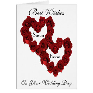 Wedding Cards For the Bride and Groom