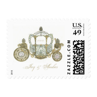 Wedding Carriage Postage
