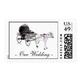 Wedding Carriage Postage