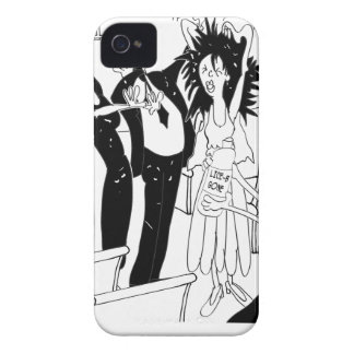 Wedding Cartoon 9193 iPhone 4 Cover