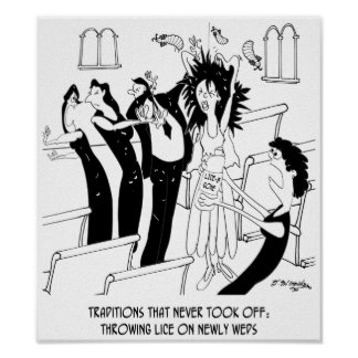 Wedding Cartoon 9193 Poster