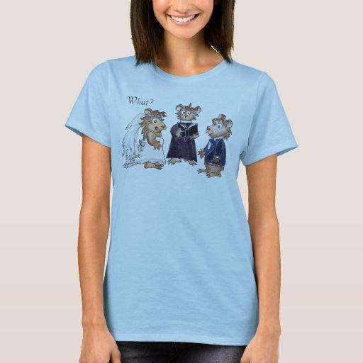 Wedding cartoon custom t shirt zazzle for Zazzle custom t shirts