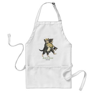 Wedding Cats Adult Apron